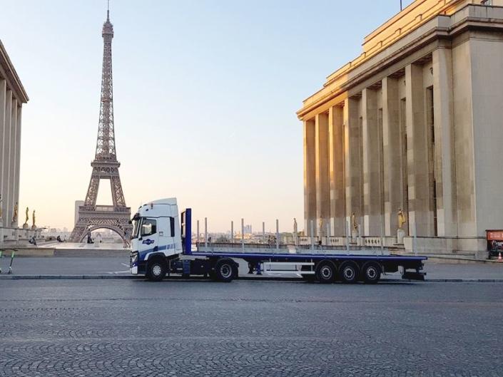 Transport de marchandises, matériaux de construction pour le BTP région parisienne